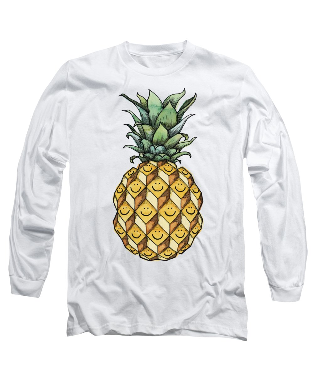Pineapple Long Sleeve T-Shirts