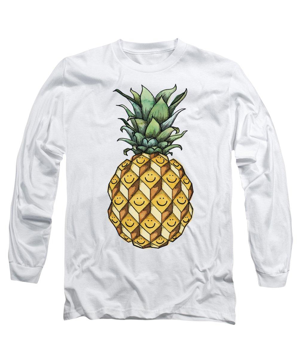 Pineapple Long Sleeve T-Shirts