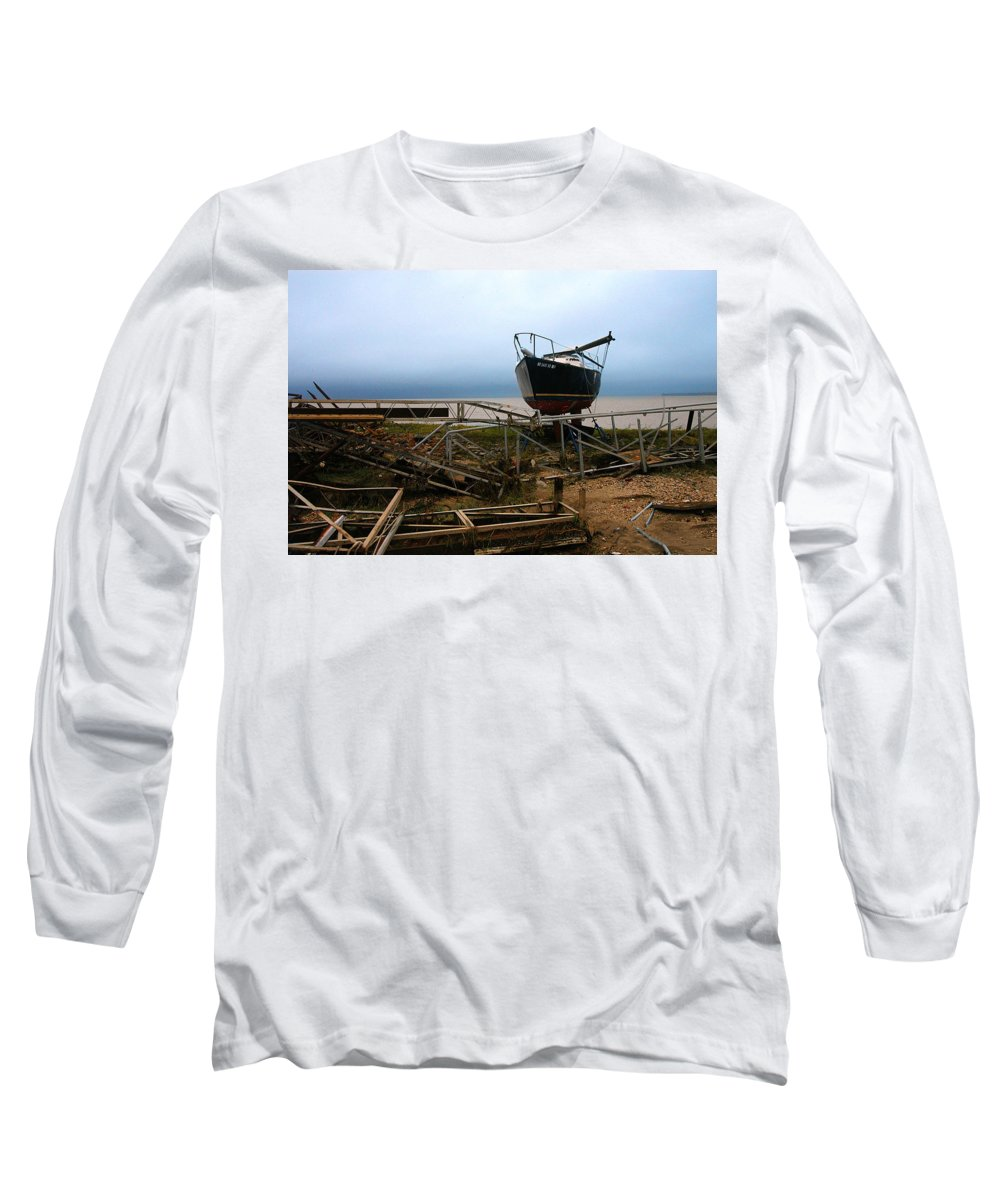 Clay Long Sleeve T-Shirt featuring the photograph Ghost by Clayton Bruster