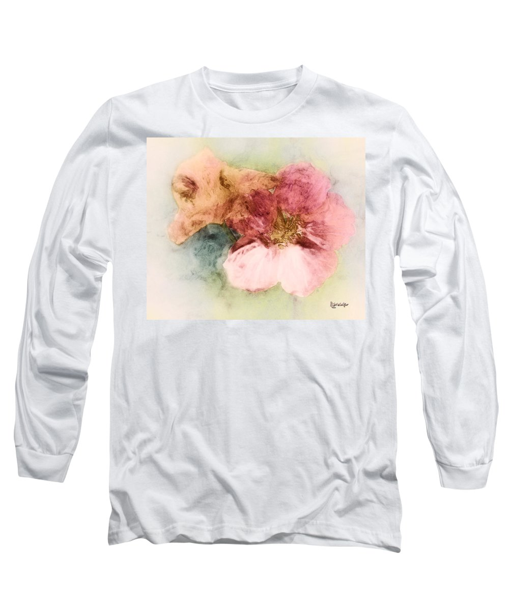 Flowers Long Sleeve T-Shirt featuring the digital art Gone Native by RC DeWinter