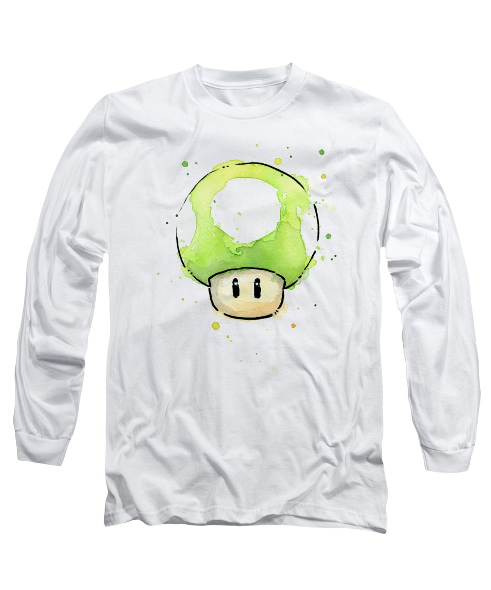 Mushroom Long Sleeve T-Shirts