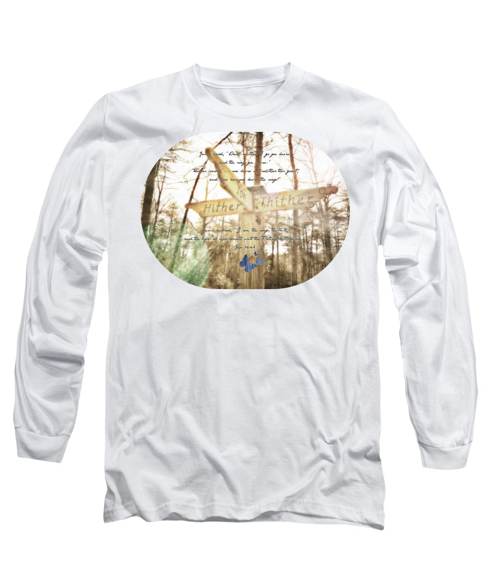 Hiking Path Long Sleeve T-Shirts