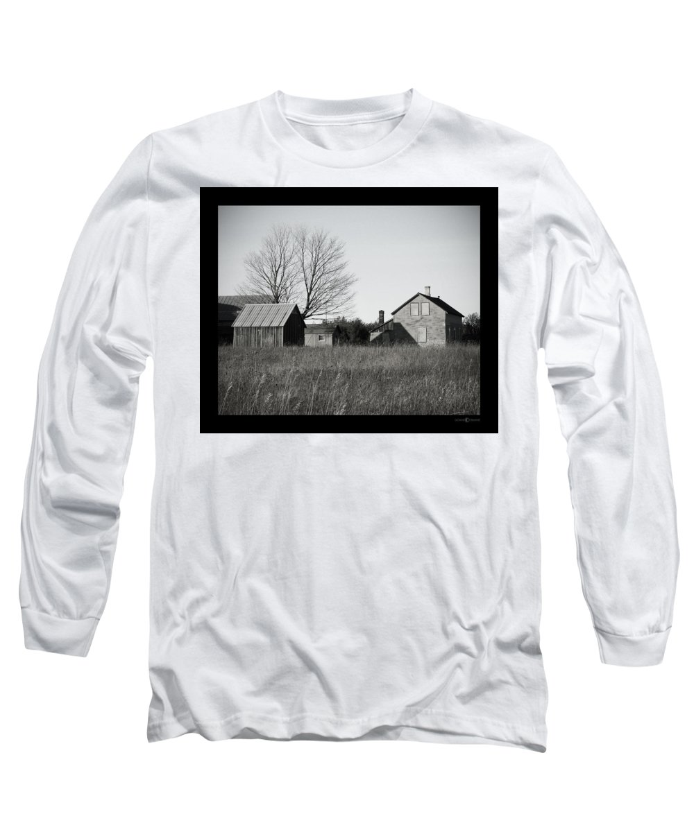 Deserted Long Sleeve T-Shirt featuring the photograph Homestead by Tim Nyberg