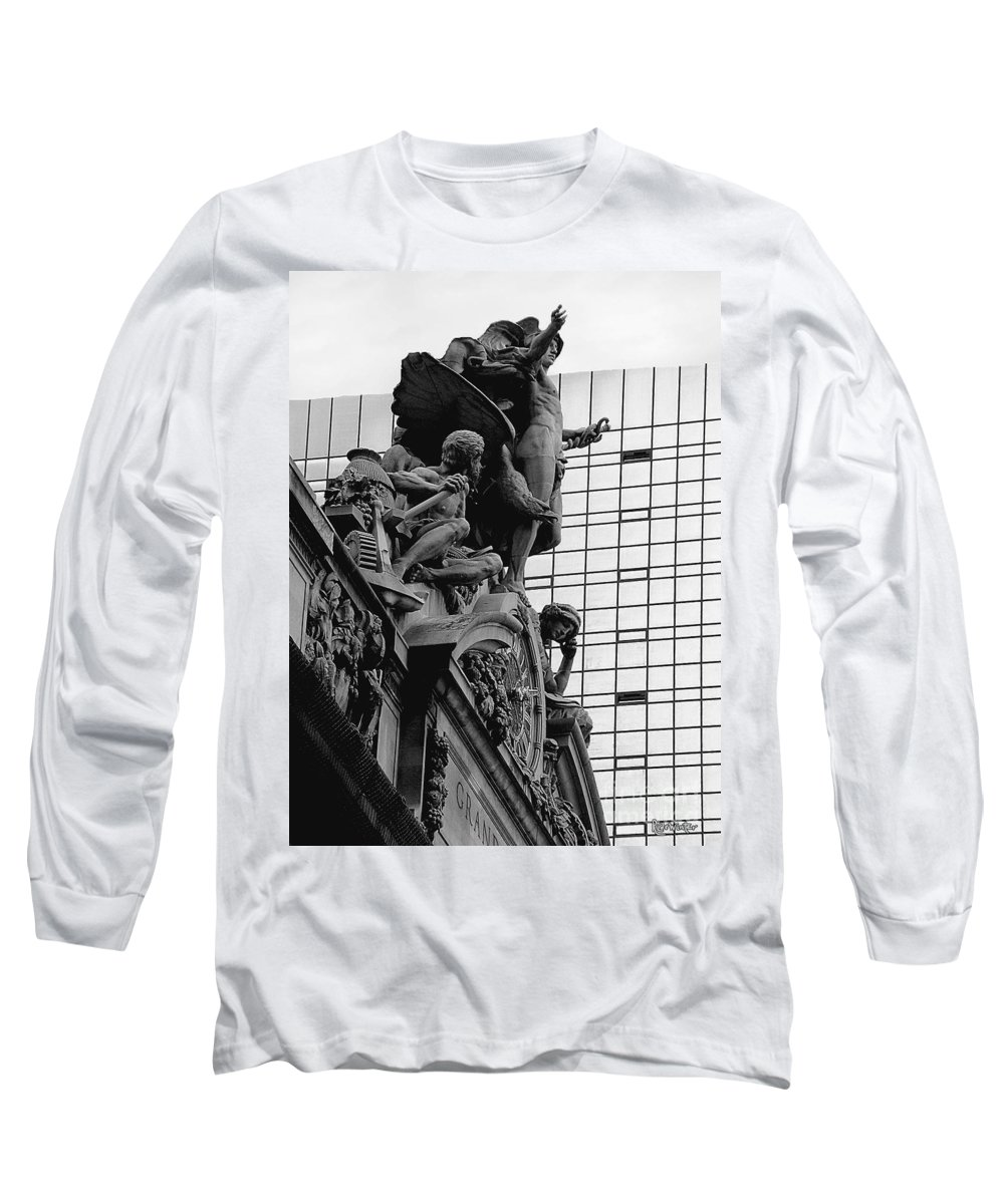 Carving Long Sleeve T-Shirt featuring the photograph Jewel In The Crown by RC DeWinter