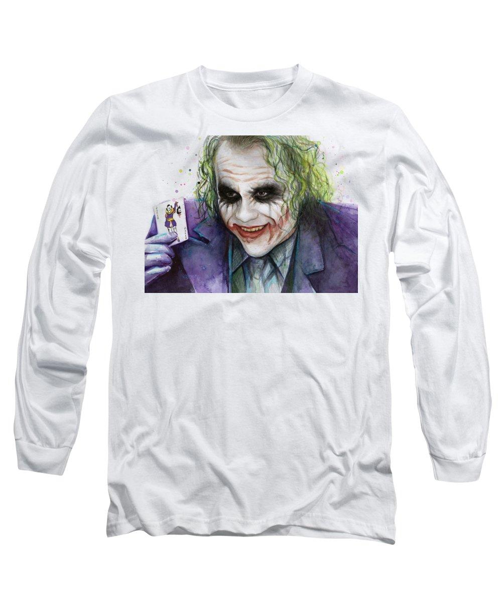 Heath Ledger Long Sleeve T-Shirts