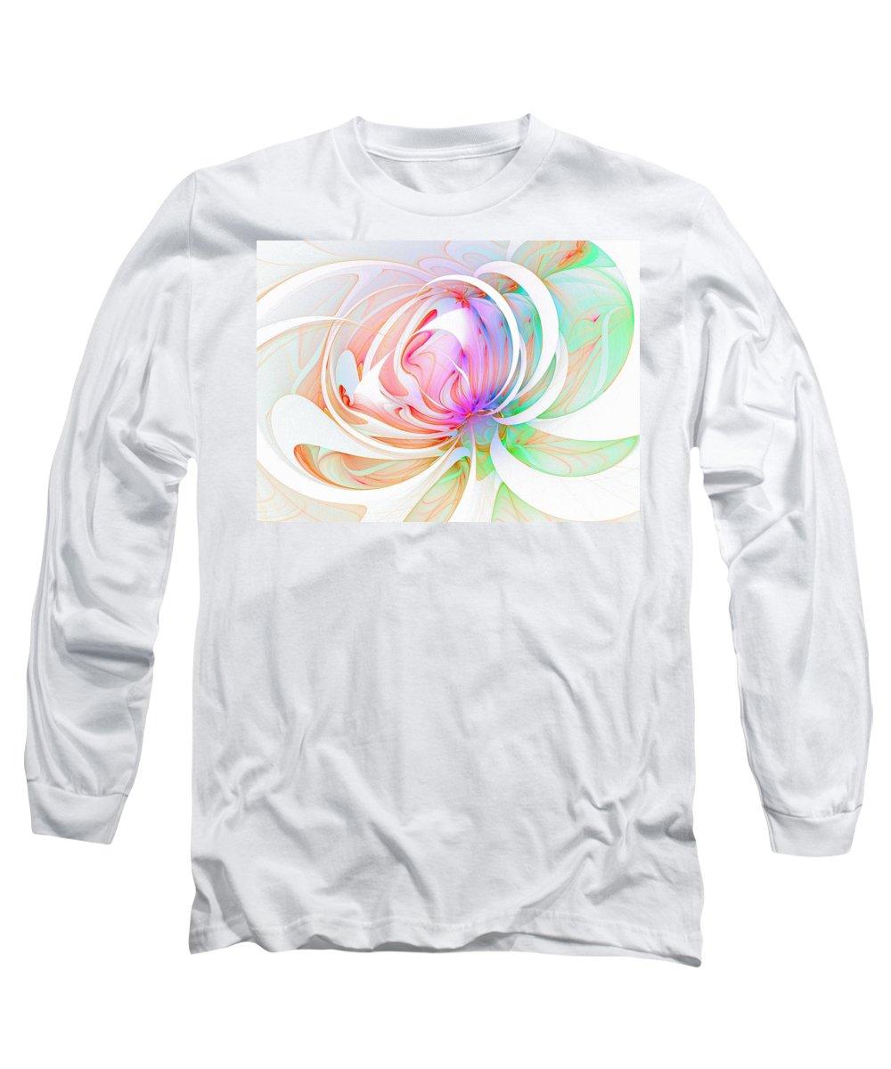 Digital Art Long Sleeve T-Shirt featuring the digital art Joy by Amanda Moore