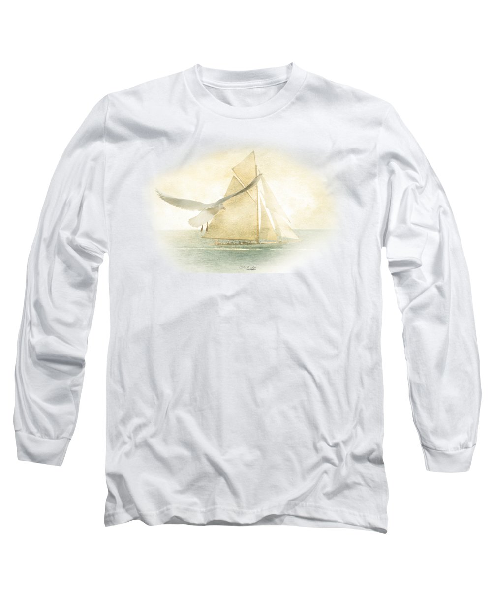Ocean Breeze Long Sleeve T-Shirts