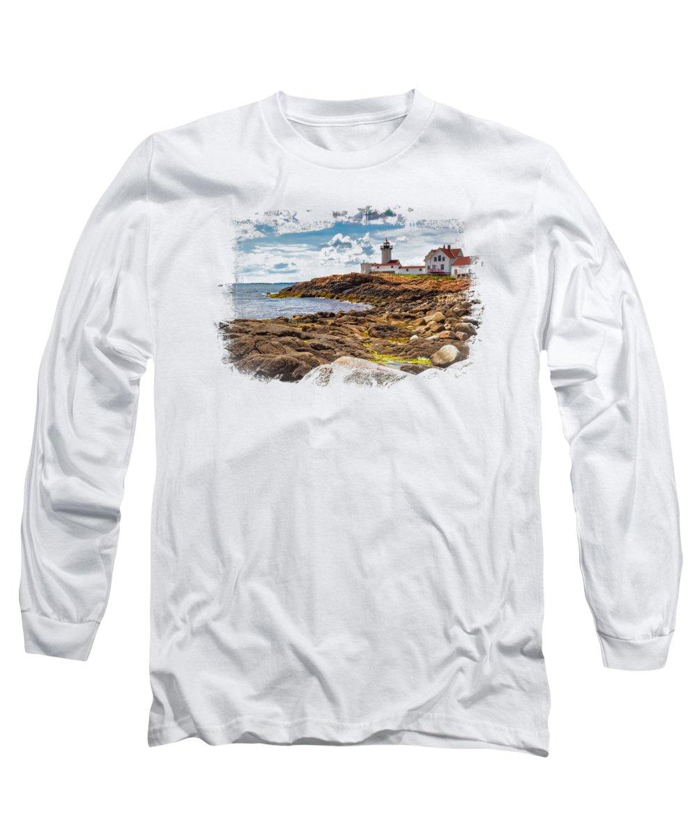 New England Coast Long Sleeve T-Shirts