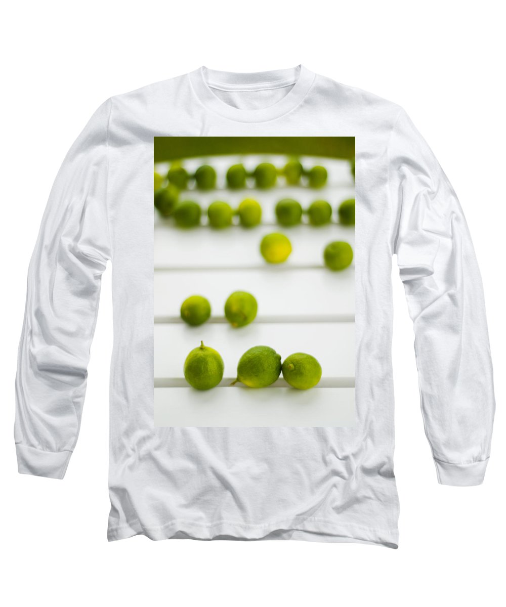 Green Long Sleeve T-Shirt featuring the photograph Lime Green by Skip Hunt