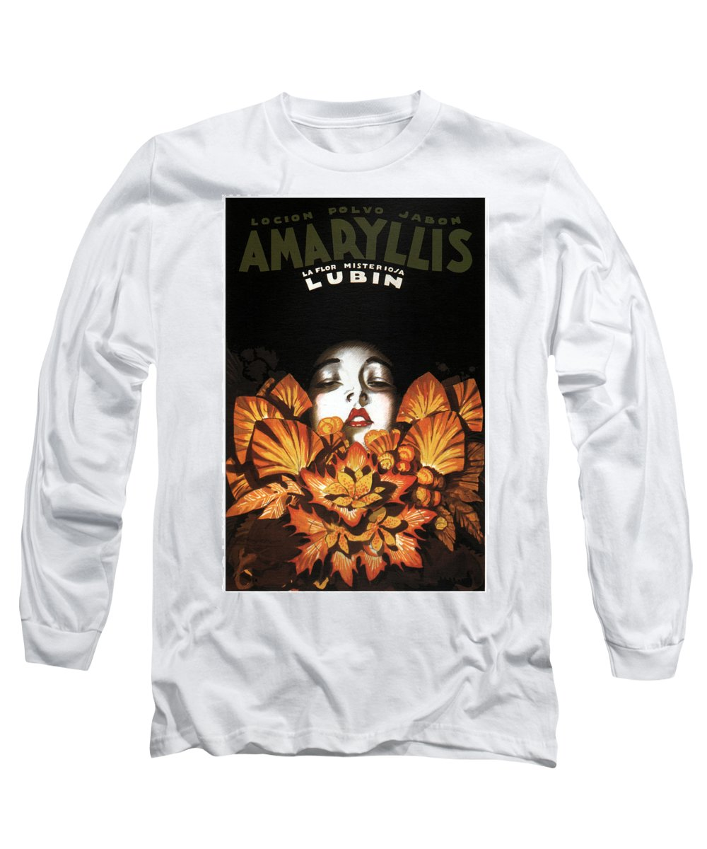 Amaryllis Long Sleeve T-Shirts