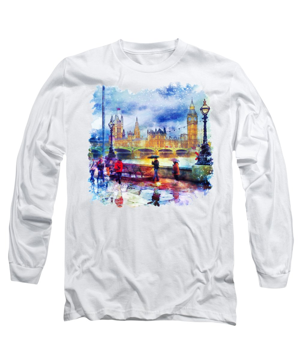 Great Britain Long Sleeve T-Shirts