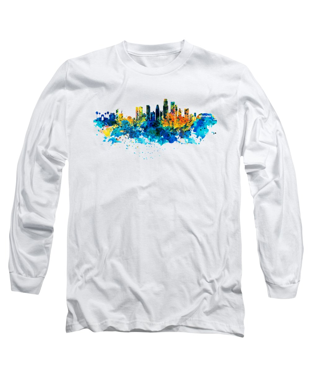 Los Angeles Skyline Long Sleeve T-Shirts