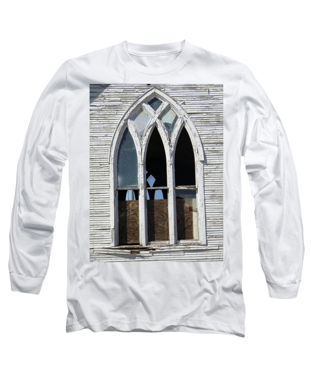 Church Long Sleeve T-Shirt featuring the photograph Lost by Gale Cochran-Smith