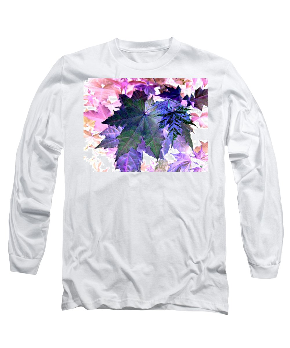 Dramatic Long Sleeve T-Shirt featuring the photograph Maple Magnetism by Will Borden