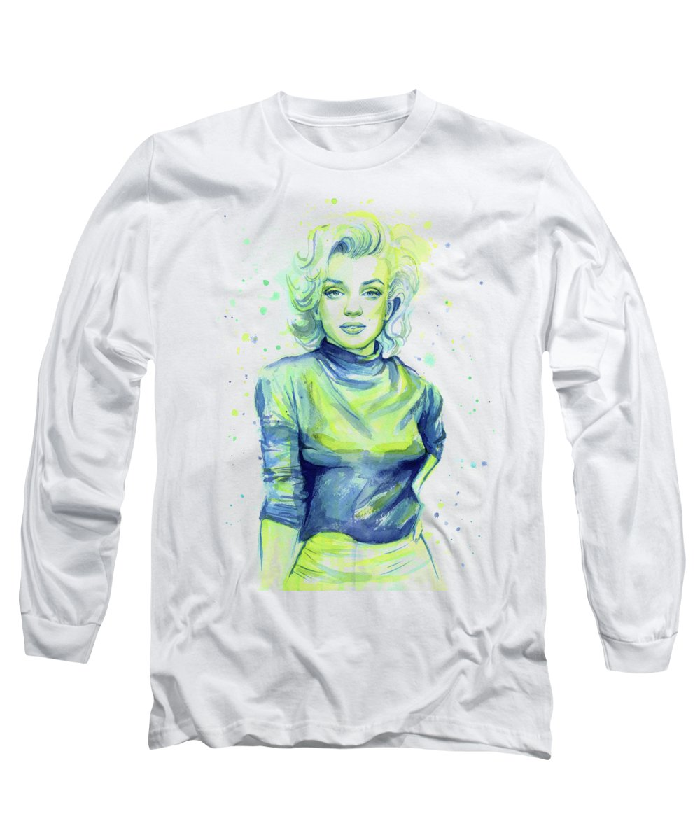 Marilyn Monroe Long Sleeve T-Shirts