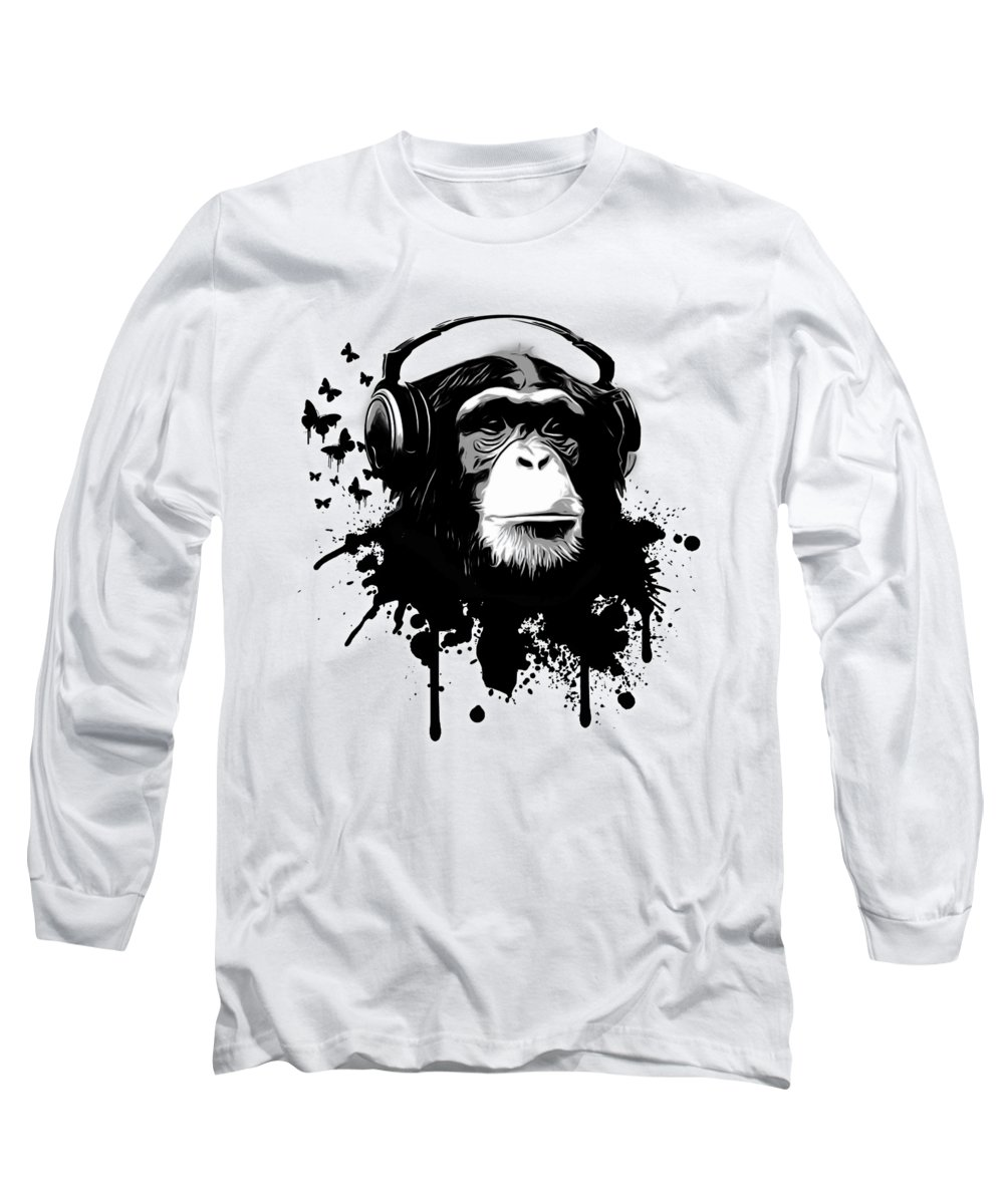 Spatter Long Sleeve T-Shirts