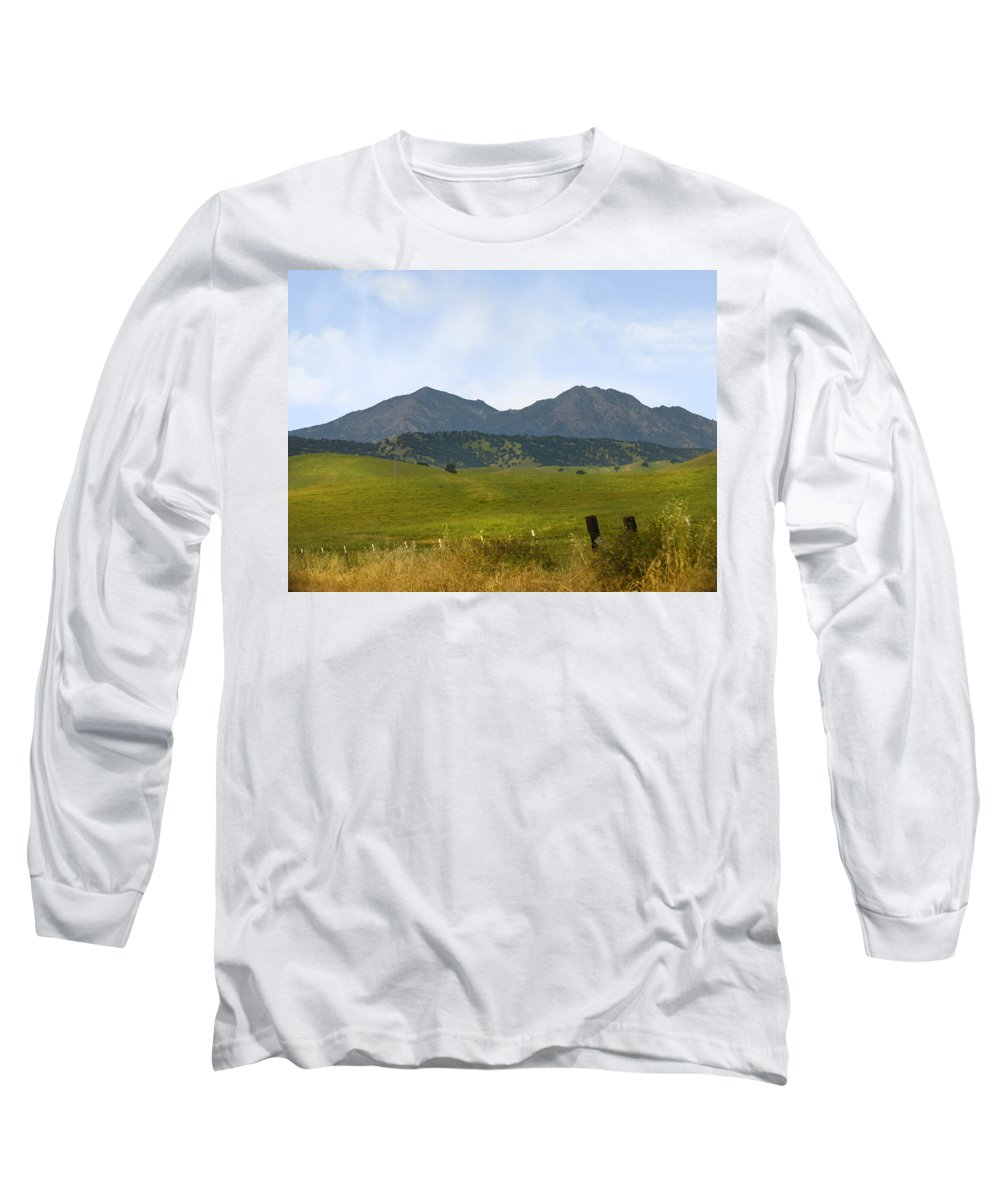 Landscapes Long Sleeve T-Shirt featuring the photograph Mt. Diablo Mcr2 by Karen W Meyer