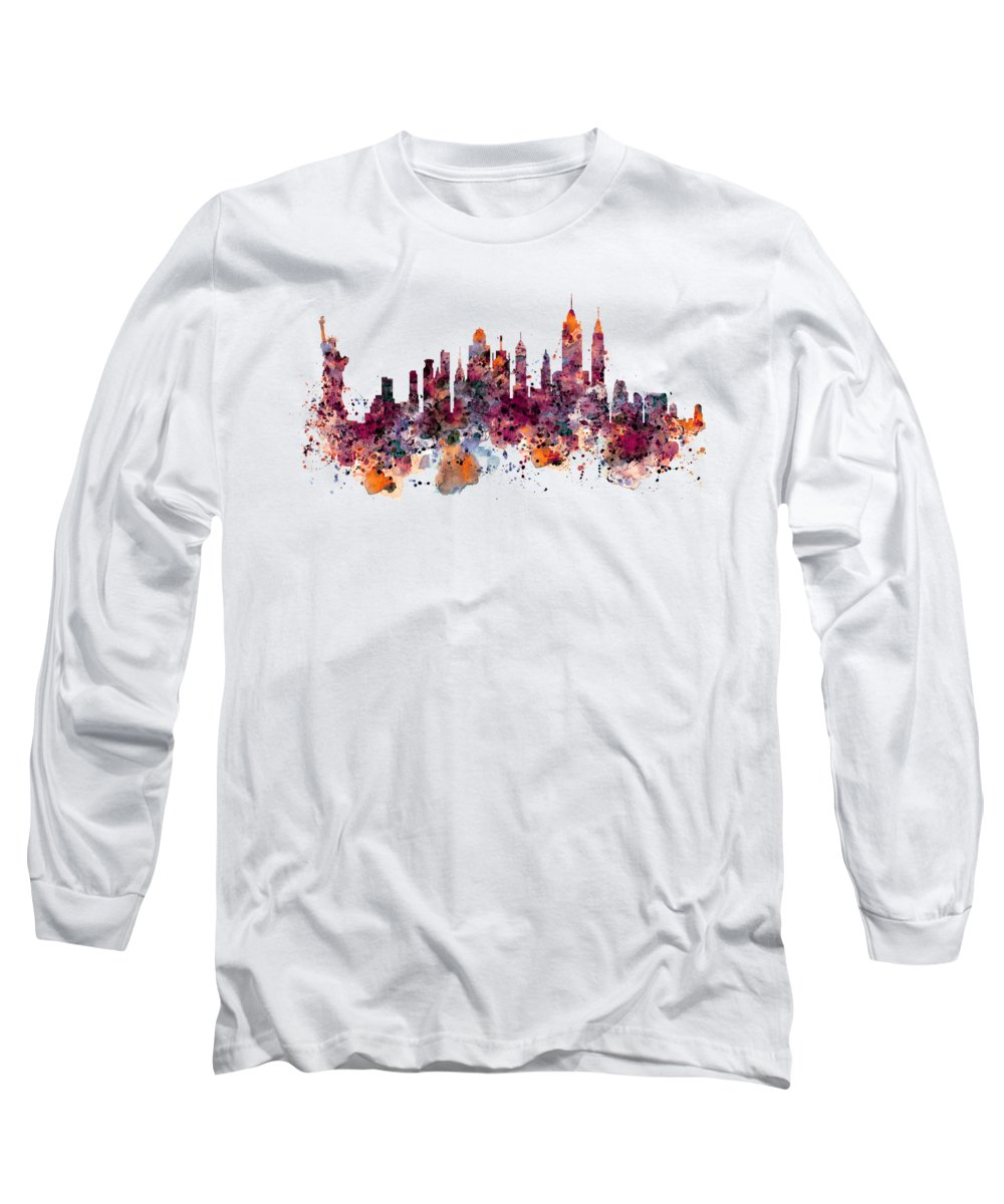 Statue Of Liberty Long Sleeve T-Shirts