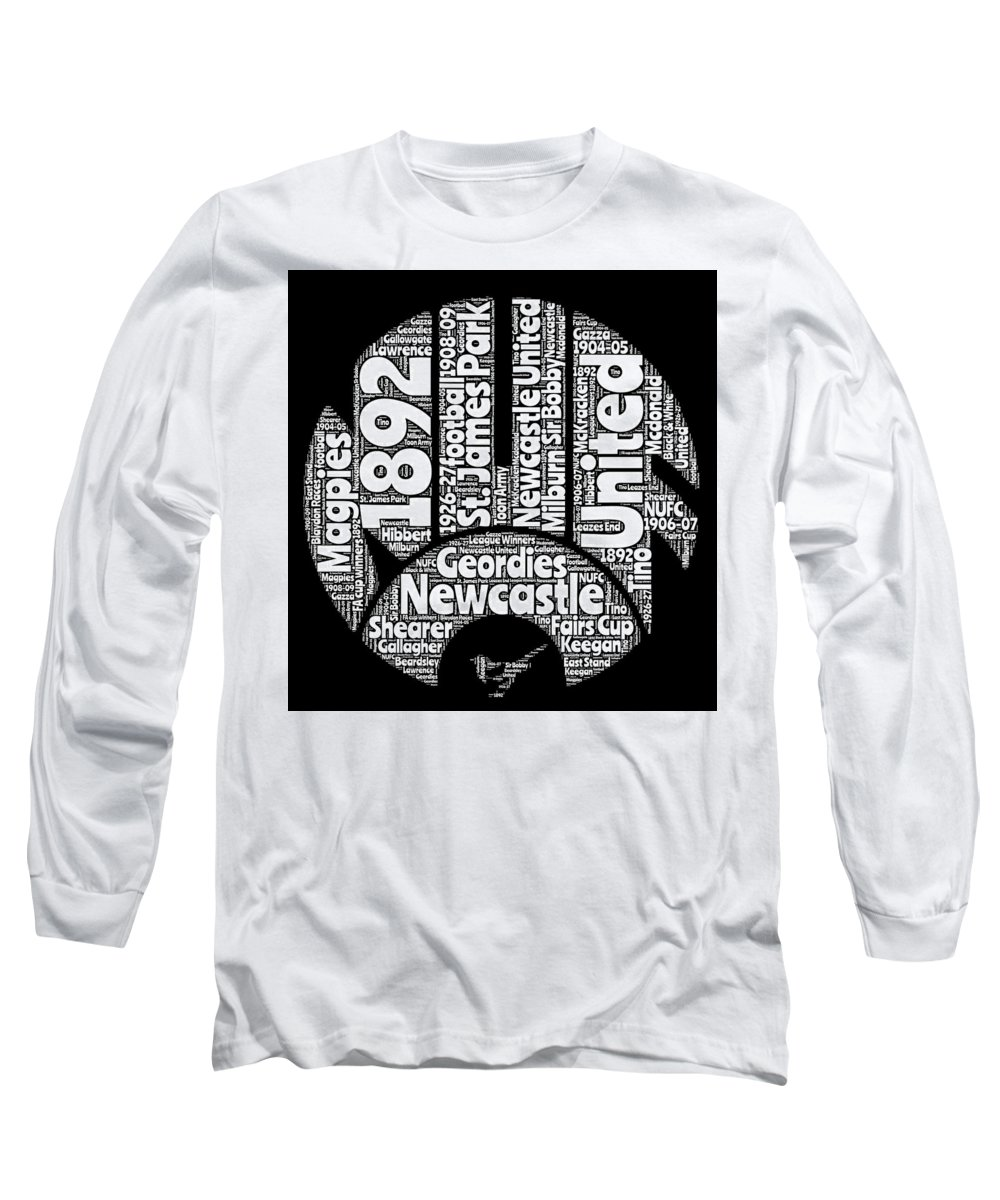 Word Art Long Sleeve T-Shirts