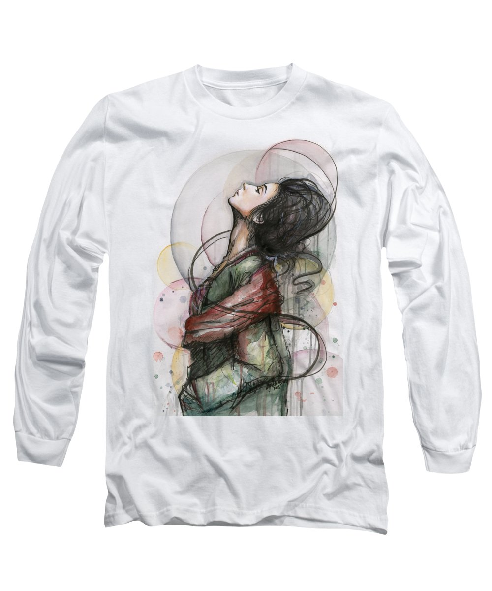 Sexy Paintings Long Sleeve T-Shirts