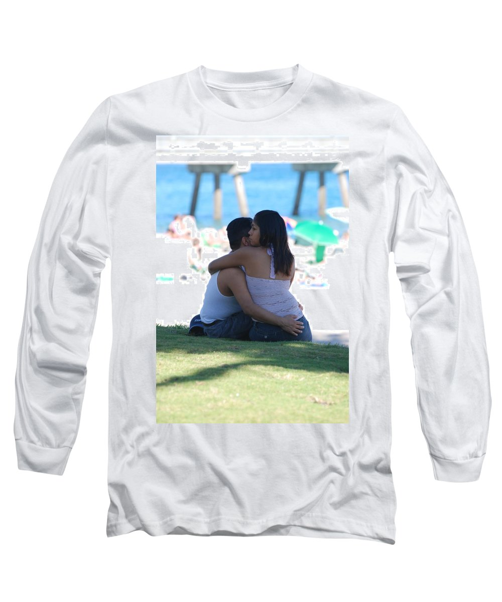 People Long Sleeve T-Shirt featuring the photograph Not Married by Rob Hans