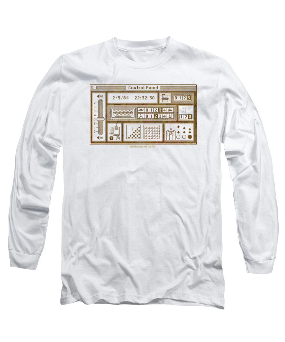Panel Long Sleeve T-Shirts