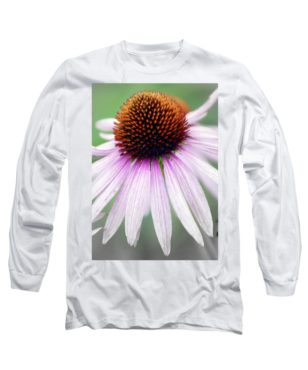 Flowers Long Sleeve T-Shirt featuring the photograph Pale Grey by Marty Koch