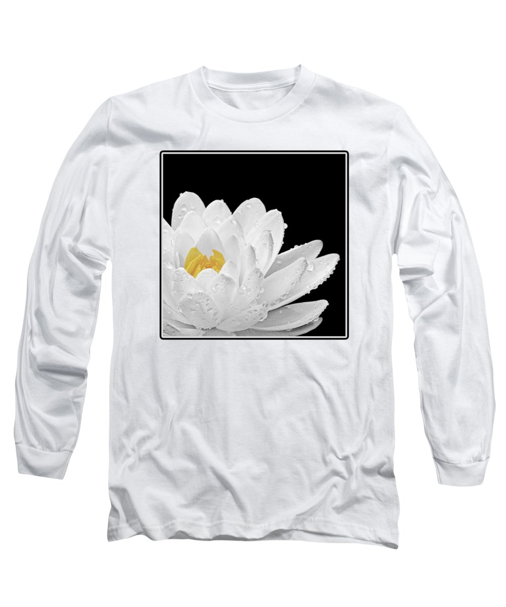 Water Lilly Long Sleeve T-Shirts