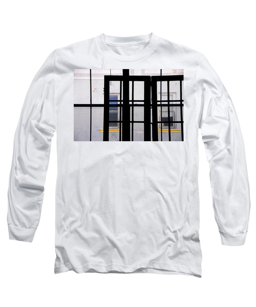 Skip Hunt Long Sleeve T-Shirt featuring the photograph Rear Window 1 by Skip Hunt