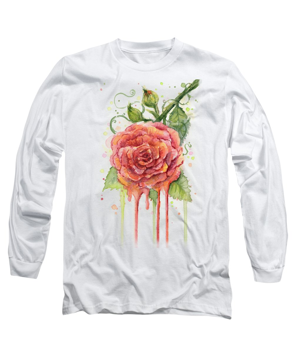 Roses Long Sleeve T-Shirts