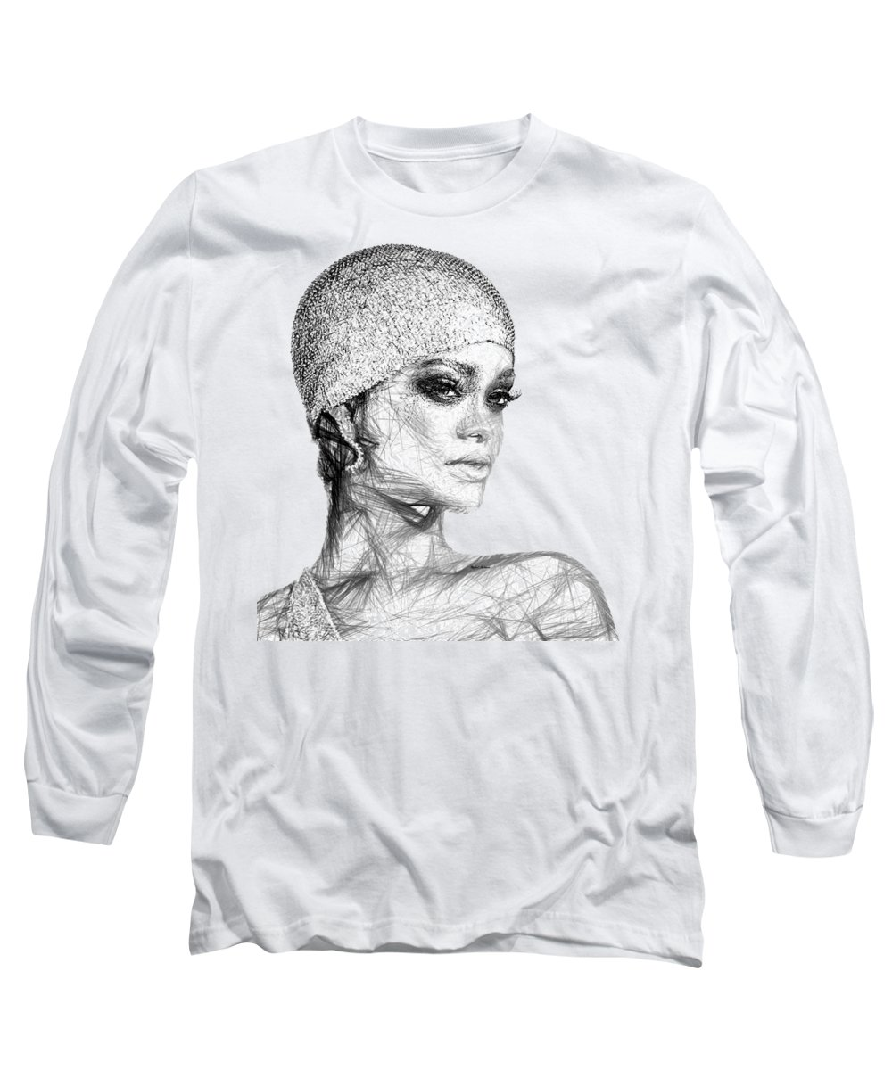 Rihanna Long Sleeve T-Shirts