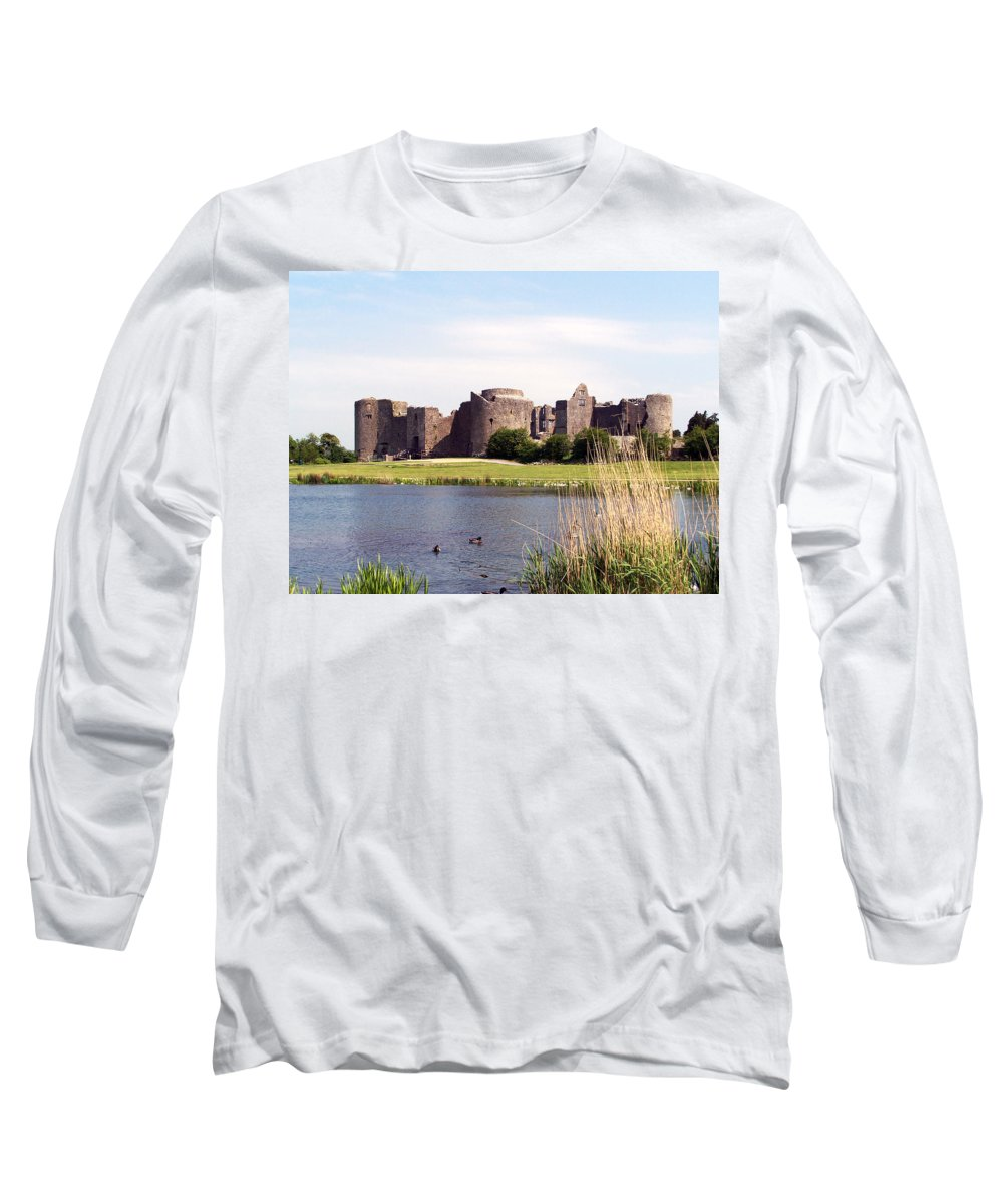 Roscommon Long Sleeve T-Shirt featuring the photograph Roscommon Castle Ireland by Teresa Mucha
