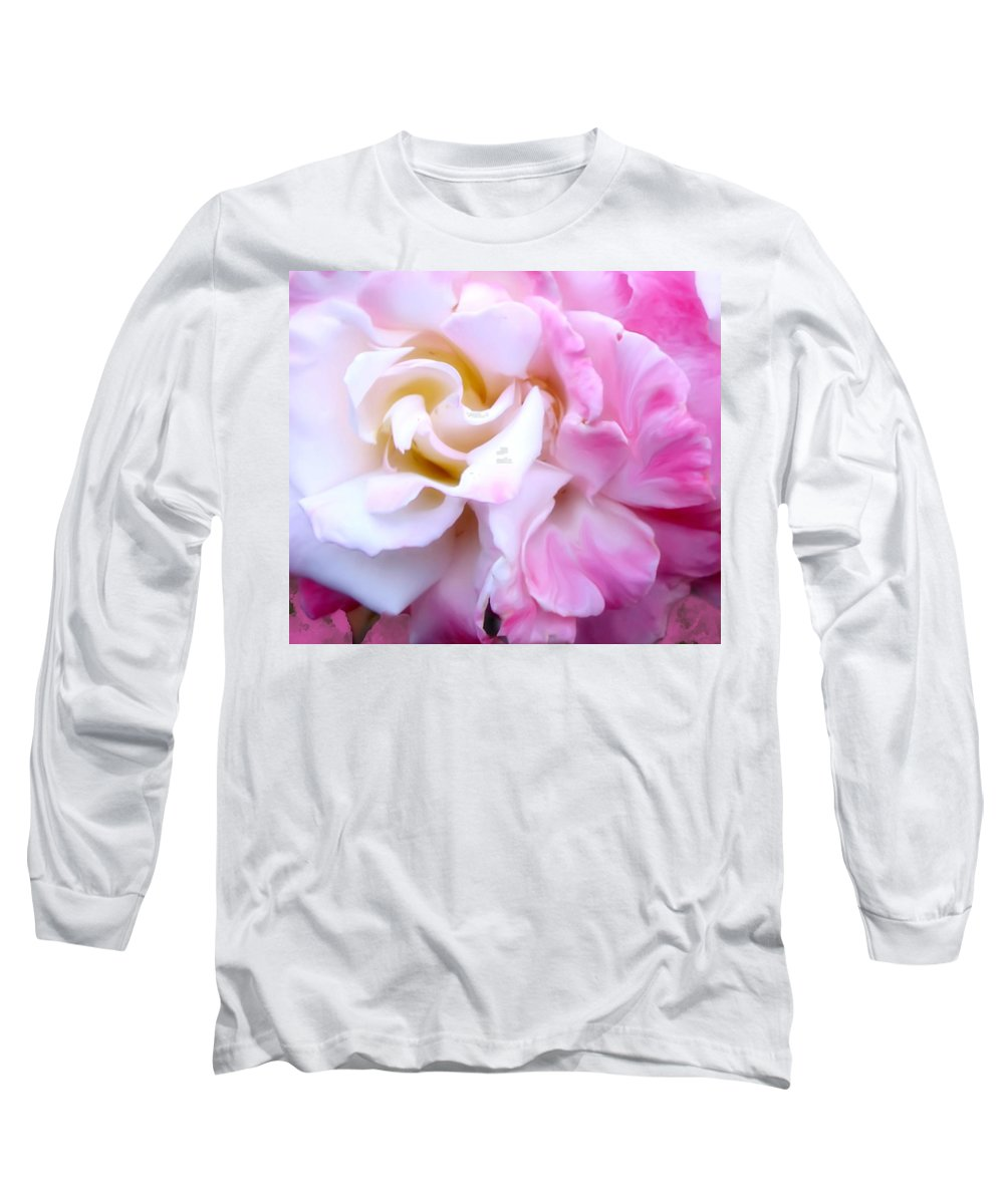 Flowers Long Sleeve T-Shirt featuring the photograph Rose by Karen W Meyer