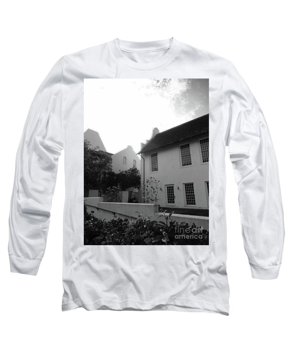 Rosemary Long Sleeve T-Shirt featuring the photograph Rosemary Beach by Megan Cohen