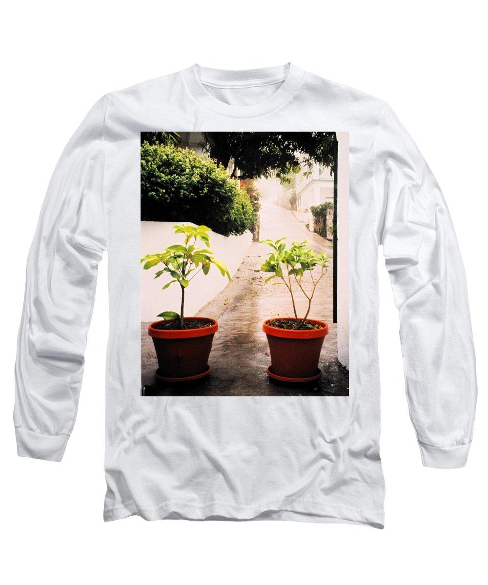 Saba Long Sleeve T-Shirt featuring the photograph Saba by Ian MacDonald