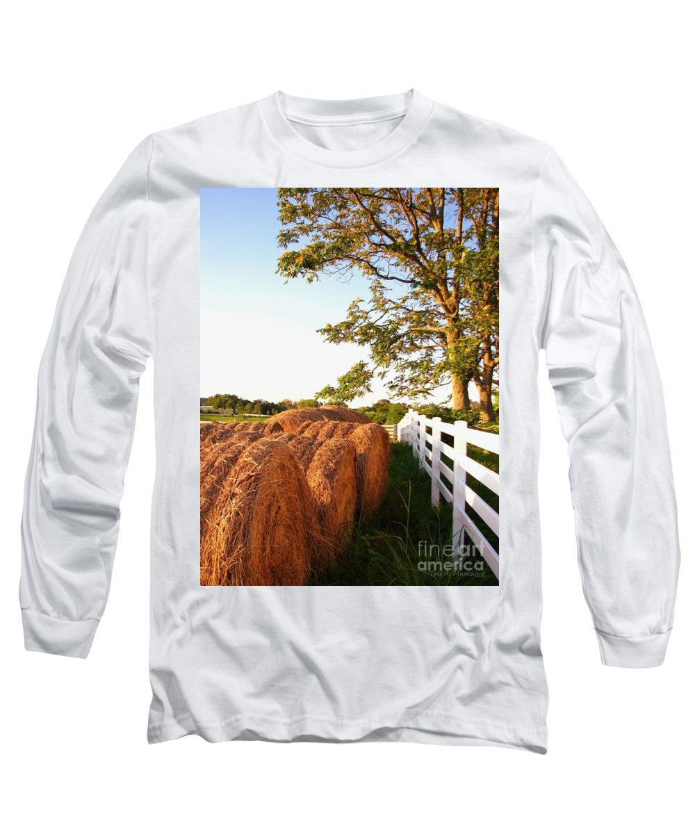 Landscape Long Sleeve T-Shirt featuring the photograph Side-by-side by Todd A Blanchard