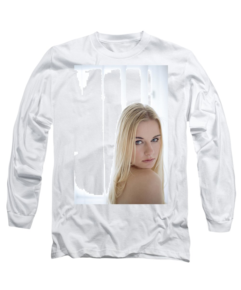 Sensual Long Sleeve T-Shirt featuring the photograph Sincere by Olivier De Rycke