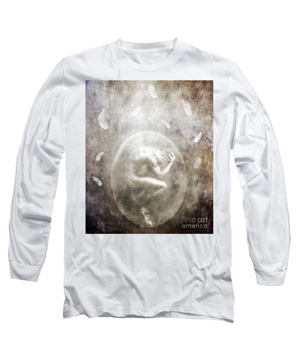 Surreal Long Sleeve T-Shirt featuring the photograph Sometimes by Jacky Gerritsen