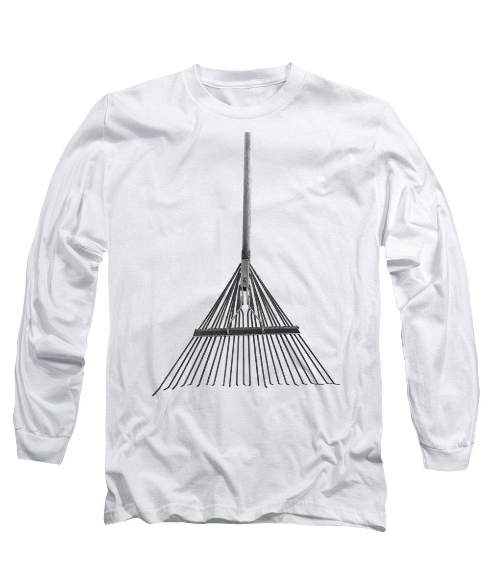 Minimal Long Sleeve T-Shirt featuring the photograph Spring Rake by YoPedro