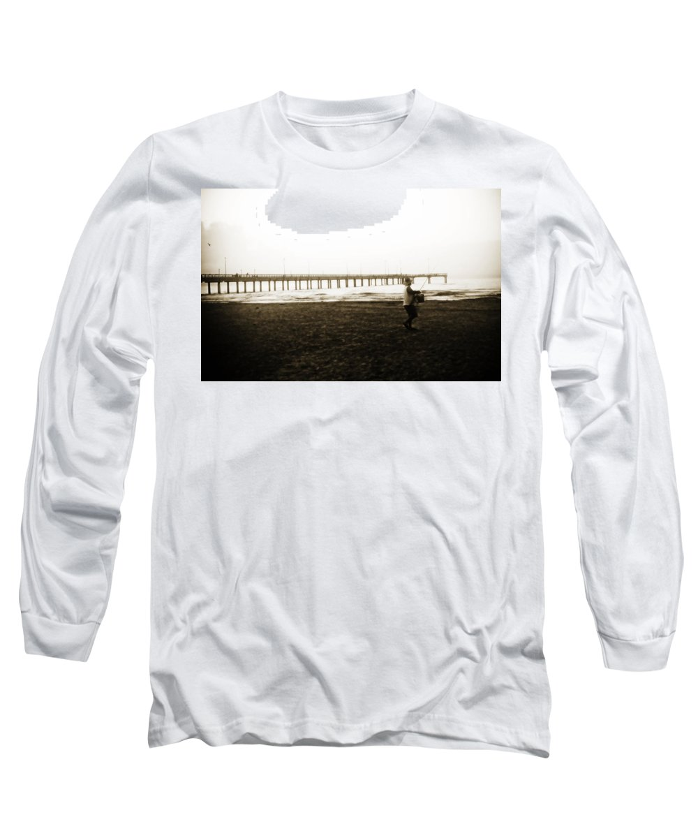 Fish Long Sleeve T-Shirt featuring the photograph Starting Early by Marilyn Hunt