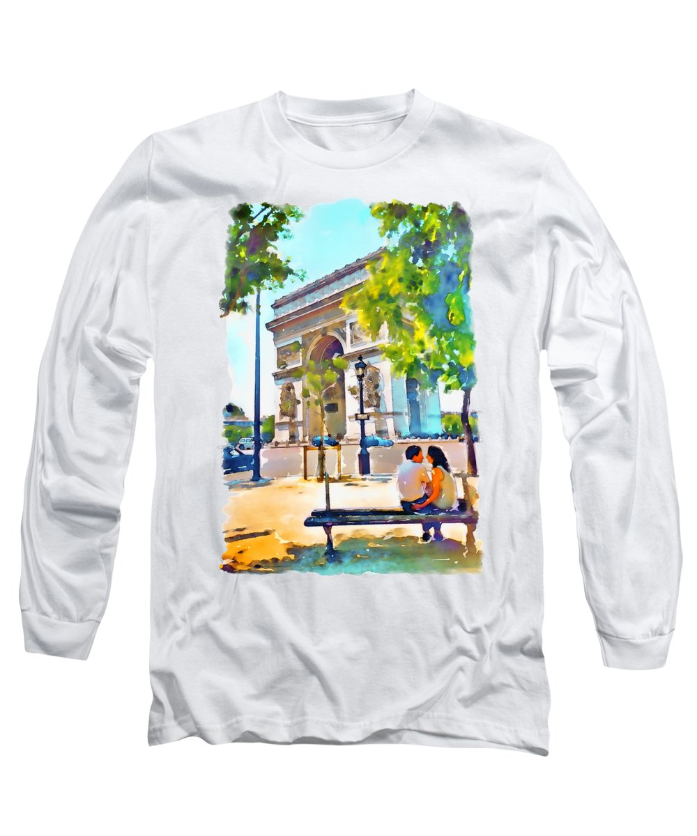 Arched Paintings Long Sleeve T-Shirts