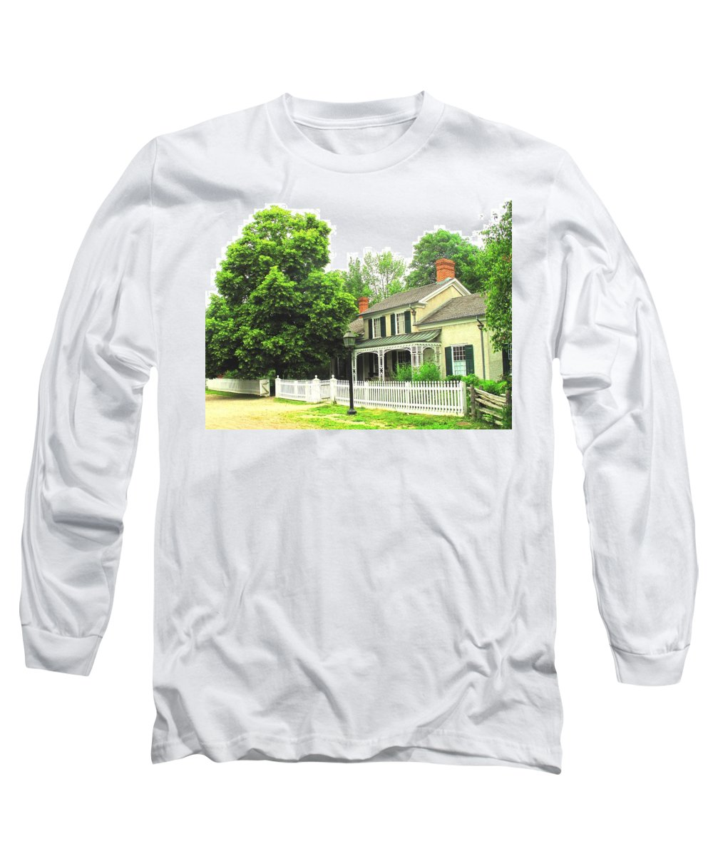 Doctor Long Sleeve T-Shirt featuring the photograph The Doctors House by Ian MacDonald