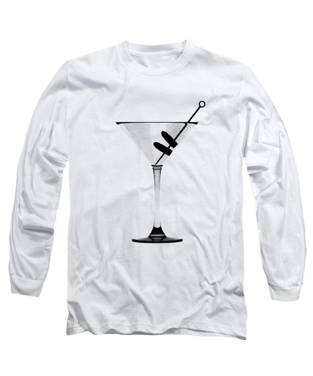 Art Deco Digital Art Long Sleeve T-Shirts