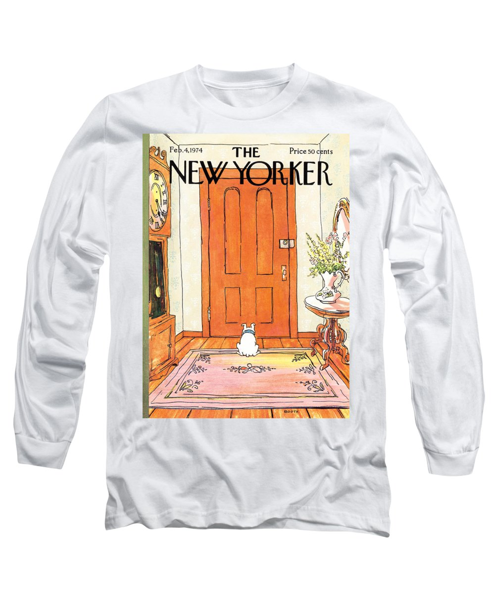 Animal Long Sleeve T-Shirt featuring the photograph The Long Wait by George Booth