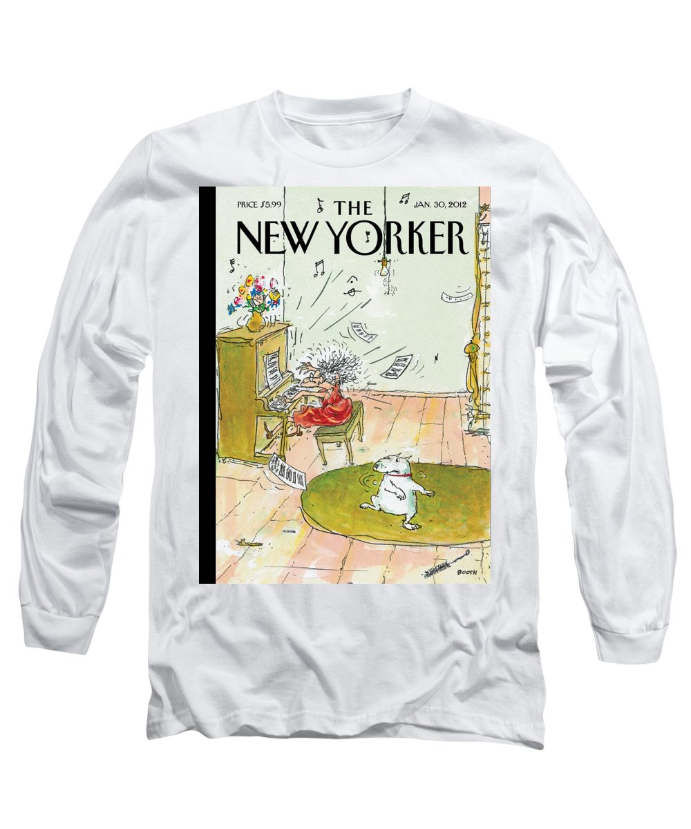 Woman Long Sleeve T-Shirt featuring the photograph Winter Blues by George Booth