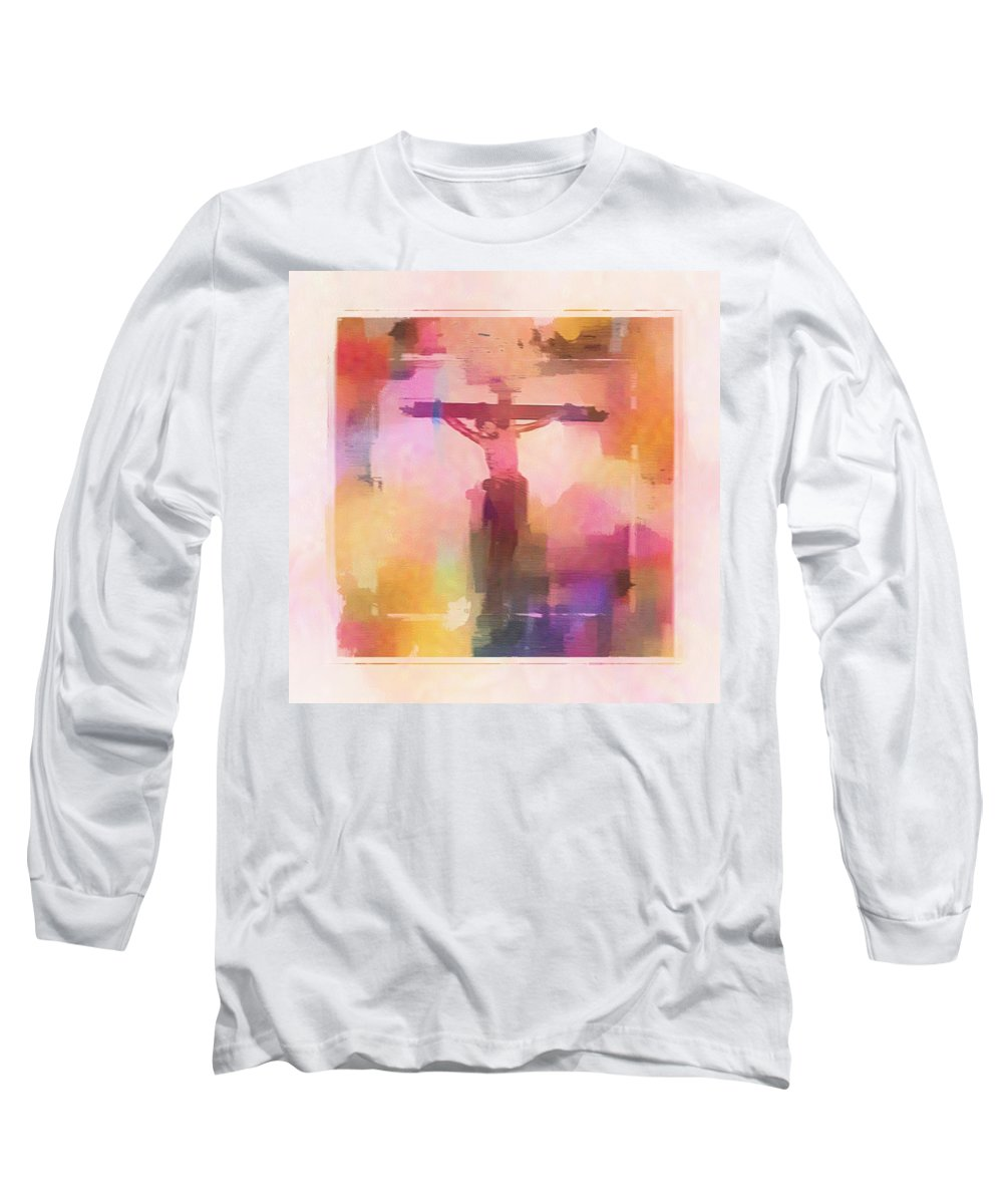 Impressionism Long Sleeve T-Shirt featuring the digital art The Price by Aaron Berg