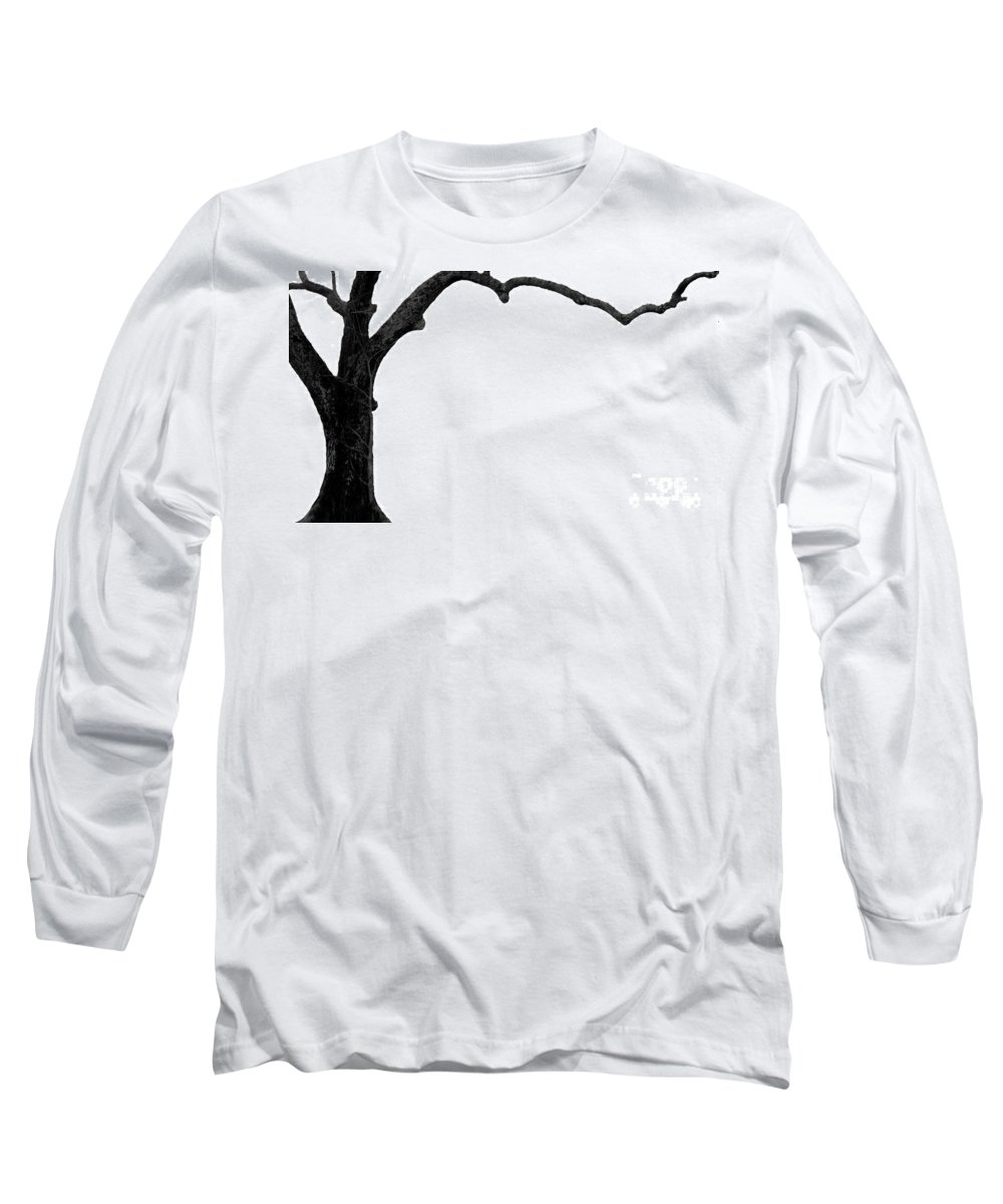 Tree Long Sleeve T-Shirt featuring the photograph The Tree by Amanda Barcon