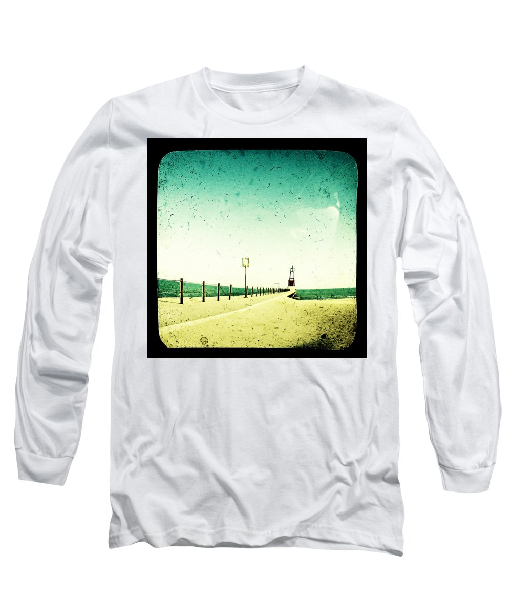 Beach Long Sleeve T-Shirt featuring the photograph These Days Are Gone by Dana DiPasquale