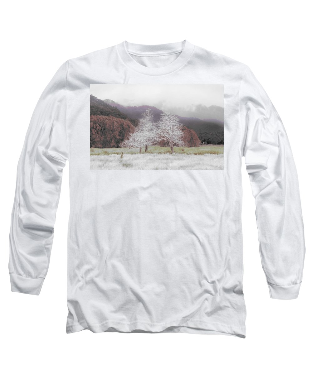 Landscape Long Sleeve T-Shirt featuring the photograph Together We Stand by Holly Kempe