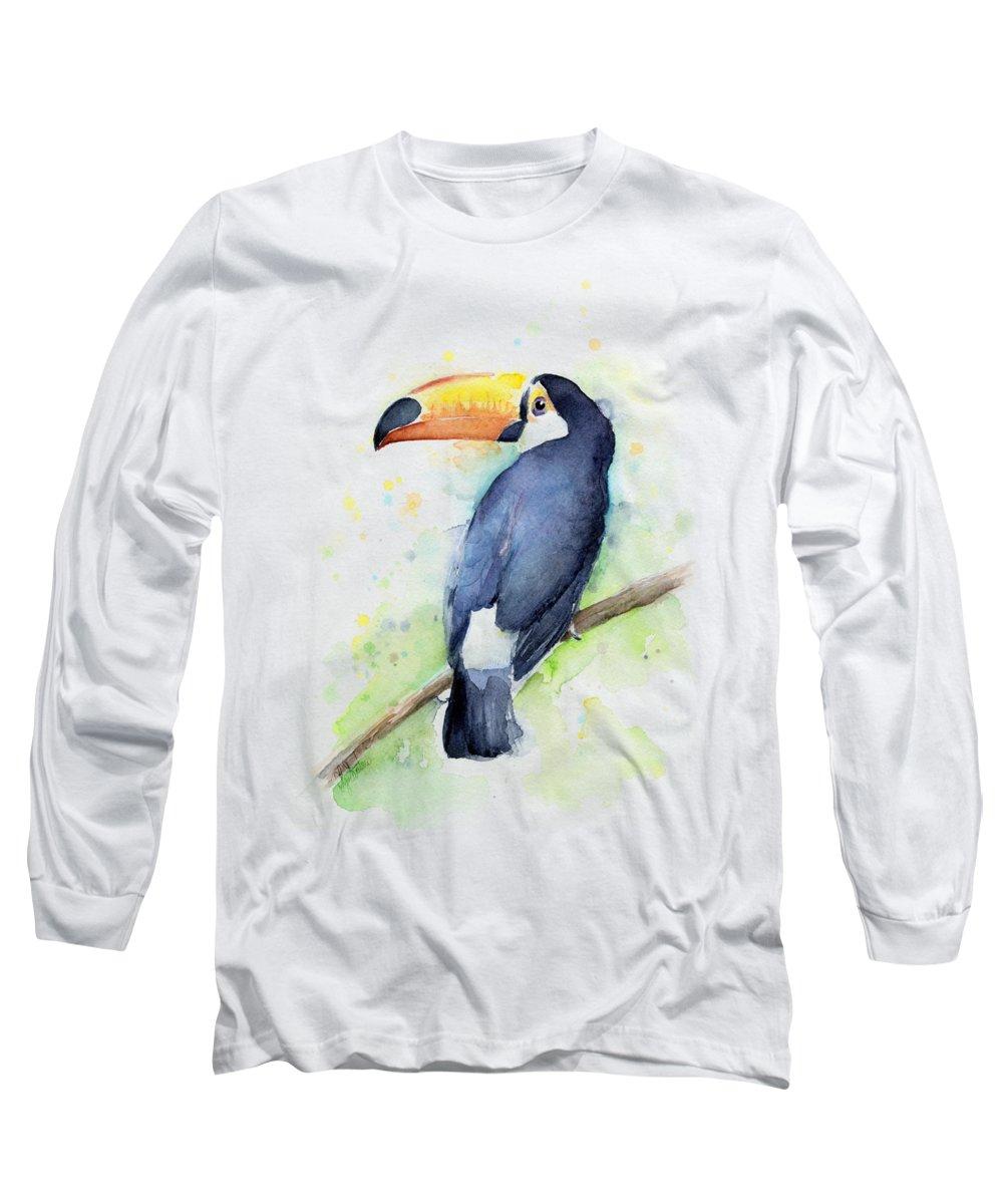 Toucan Long Sleeve T-Shirts